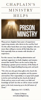 Chaplain's Ministry Helps